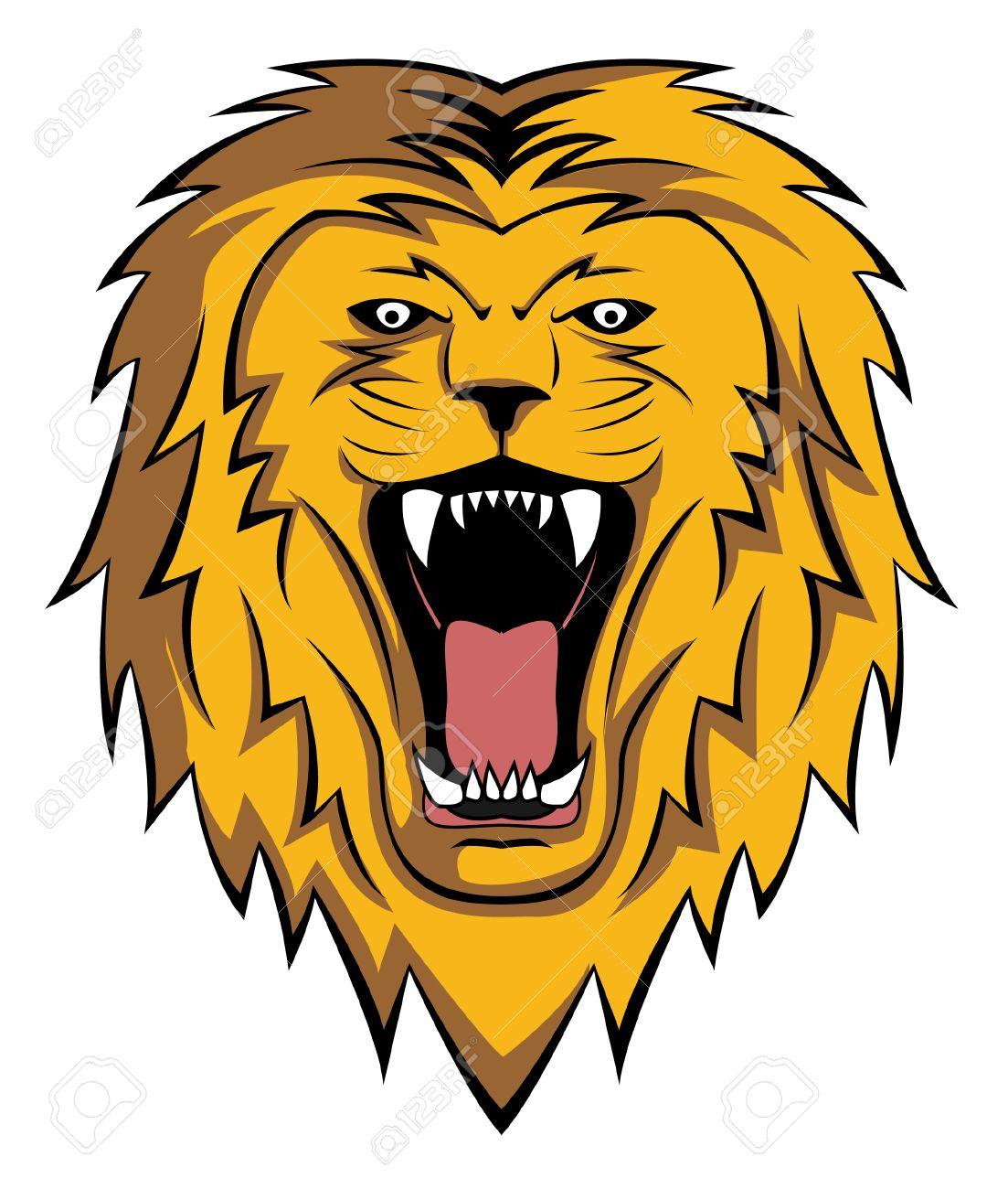 lion roar Stock Vector - 24122856