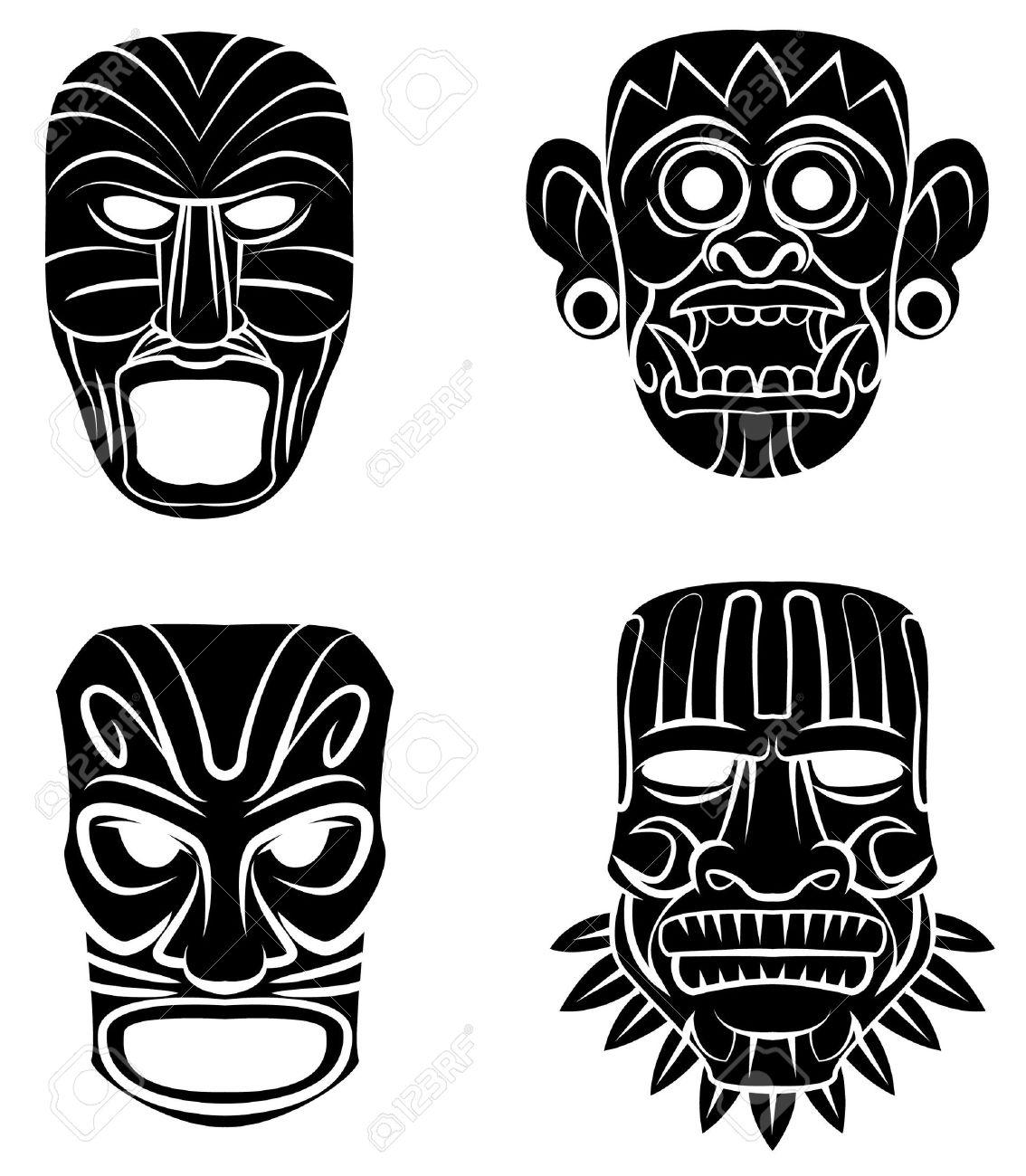 Turbo Masque Africain Banque D'Images, Vecteurs Et Illustrations Libres  BH36