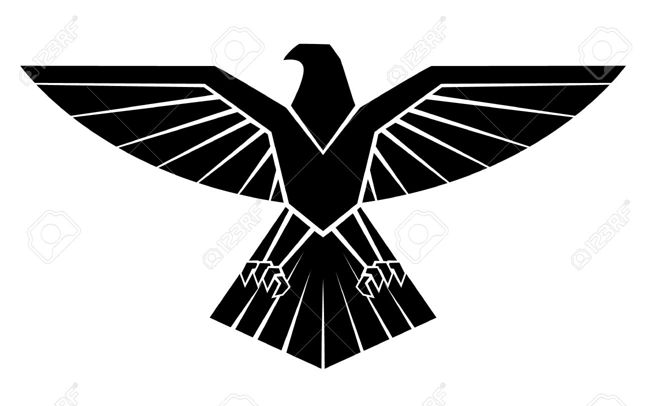 Black silhoutte of eagle symbol royalty free cliparts vectors black silhoutte of eagle symbol stock vector 35688441 biocorpaavc Images