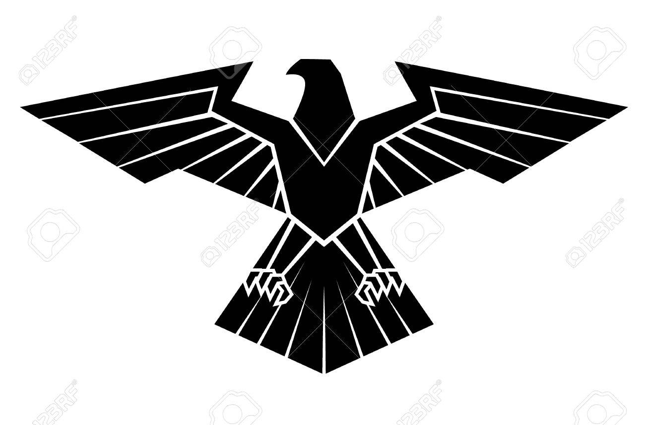 Black silhoutte of eagle symbol royalty free cliparts vectors black silhoutte of eagle symbol stock vector 35688442 biocorpaavc Gallery