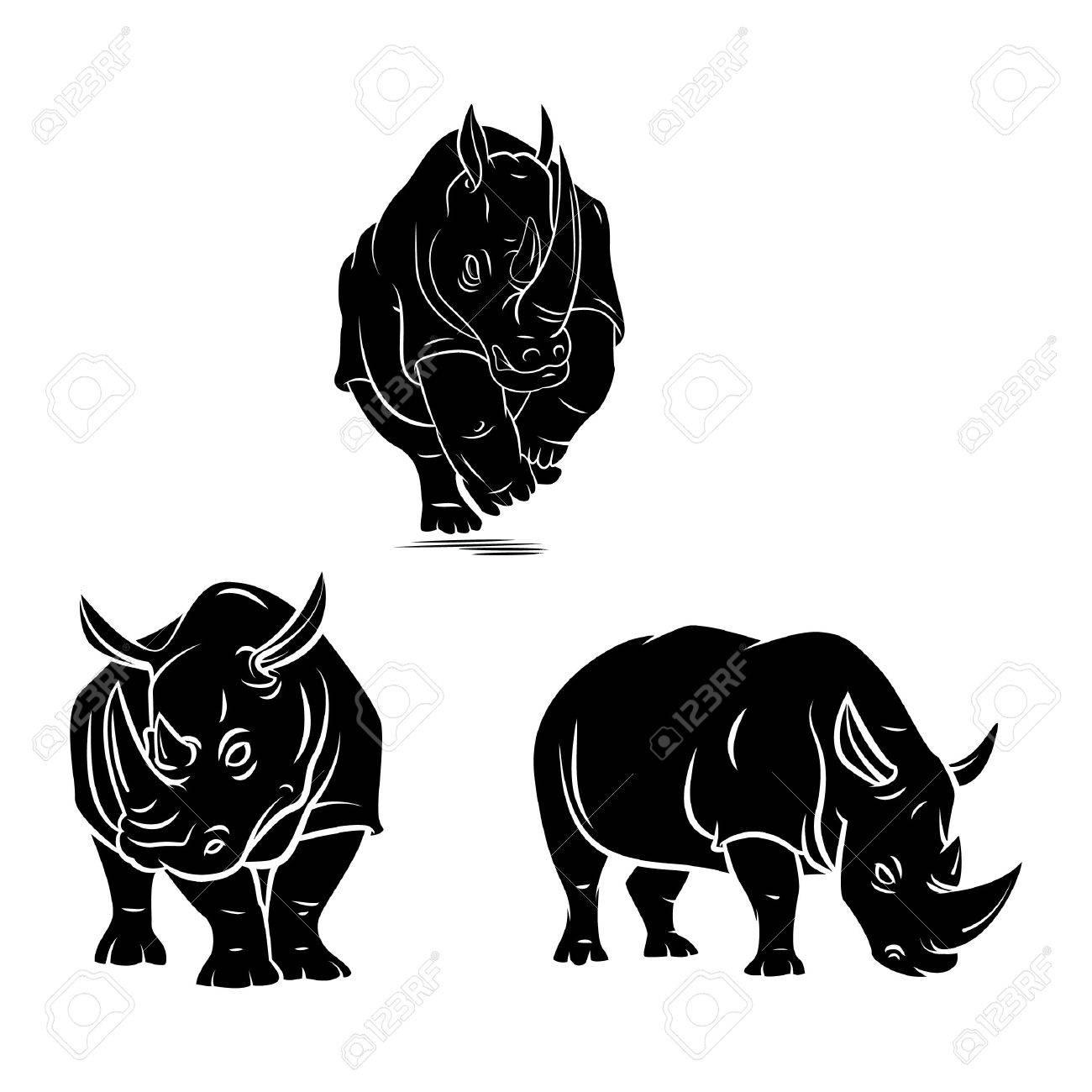 rhino tattoo - 37214528