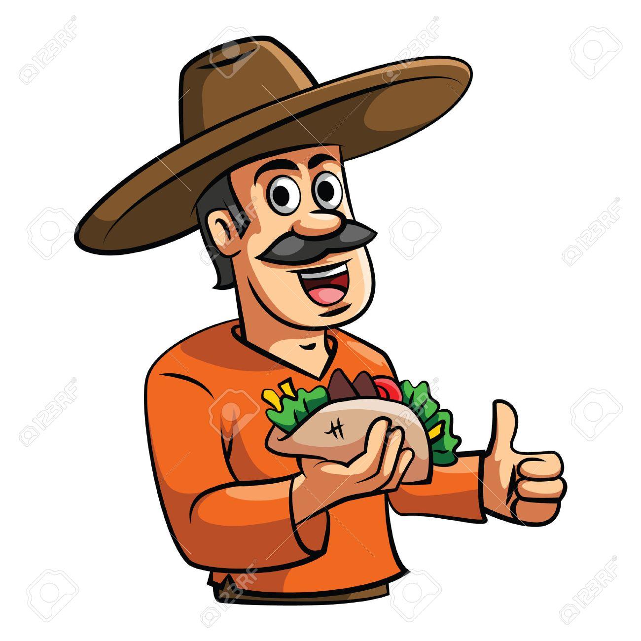 Chef Taco illustration - 37191074