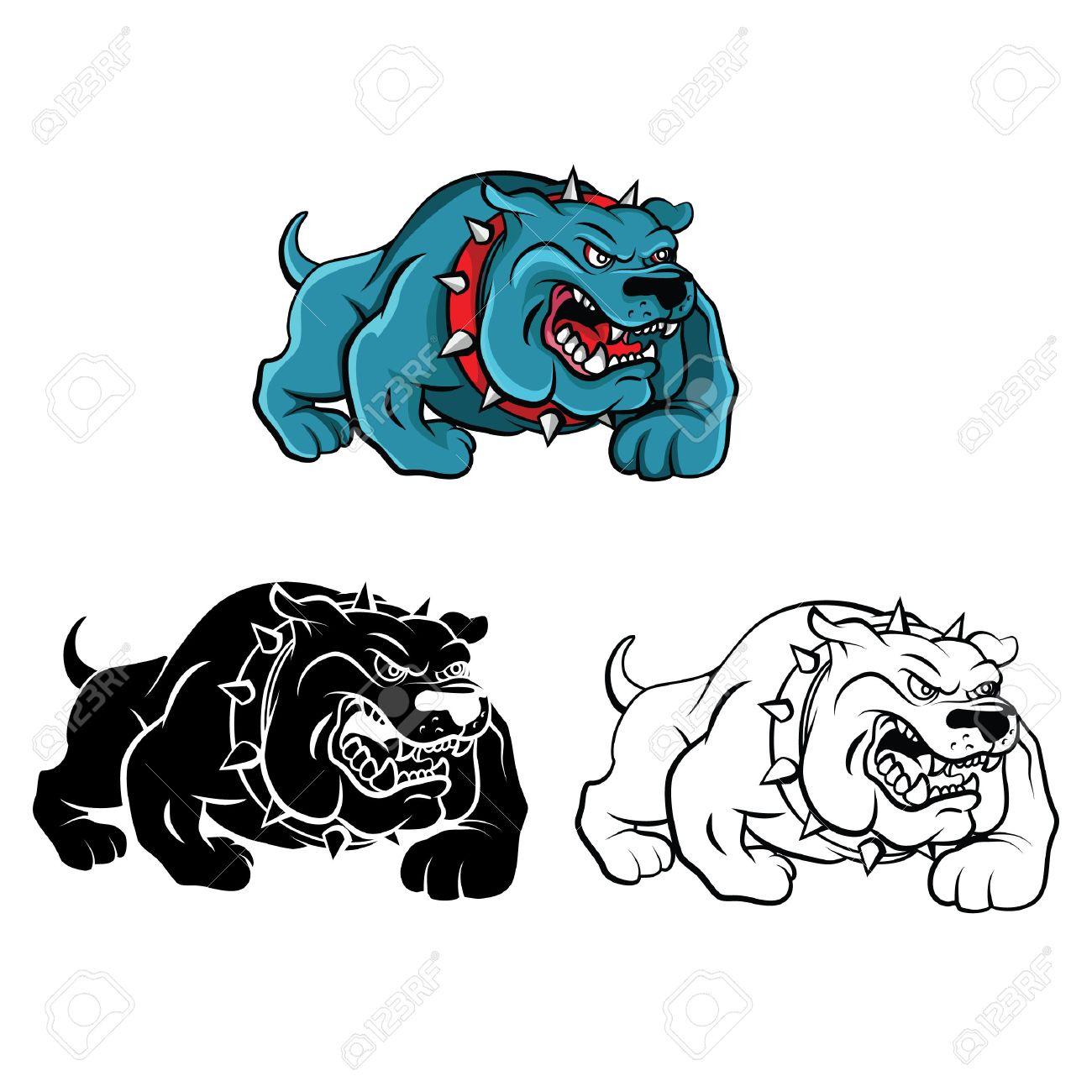 Encantador Dibujos De Perros Pitbull Para Colorear