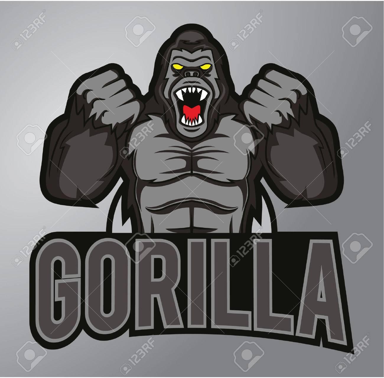Gorilla mascot - 40402927