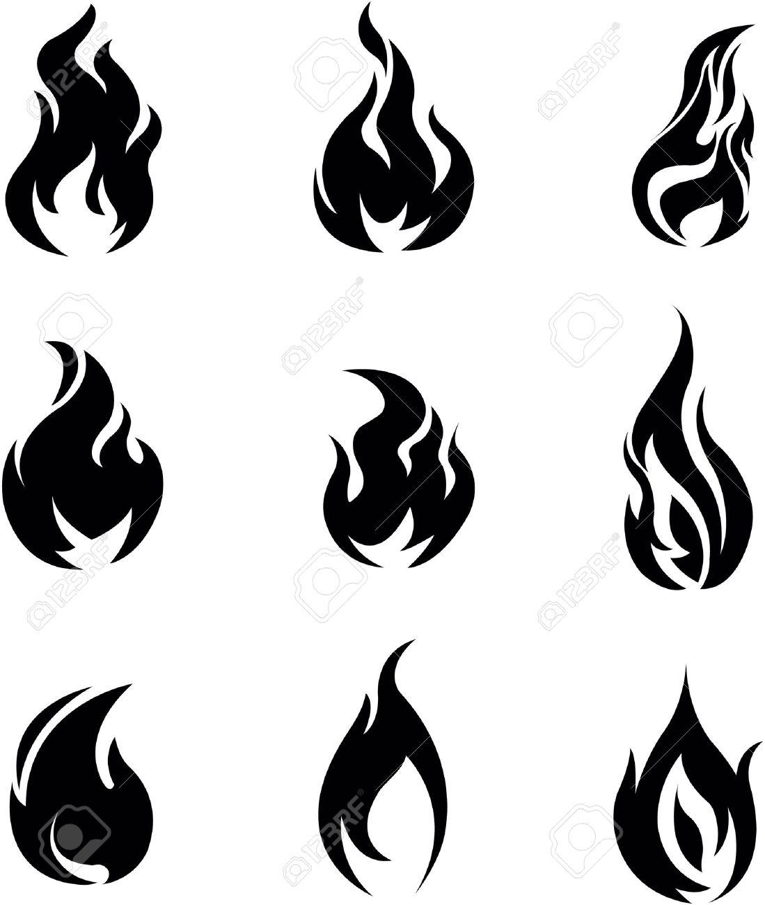 Fire symbol - 46370463