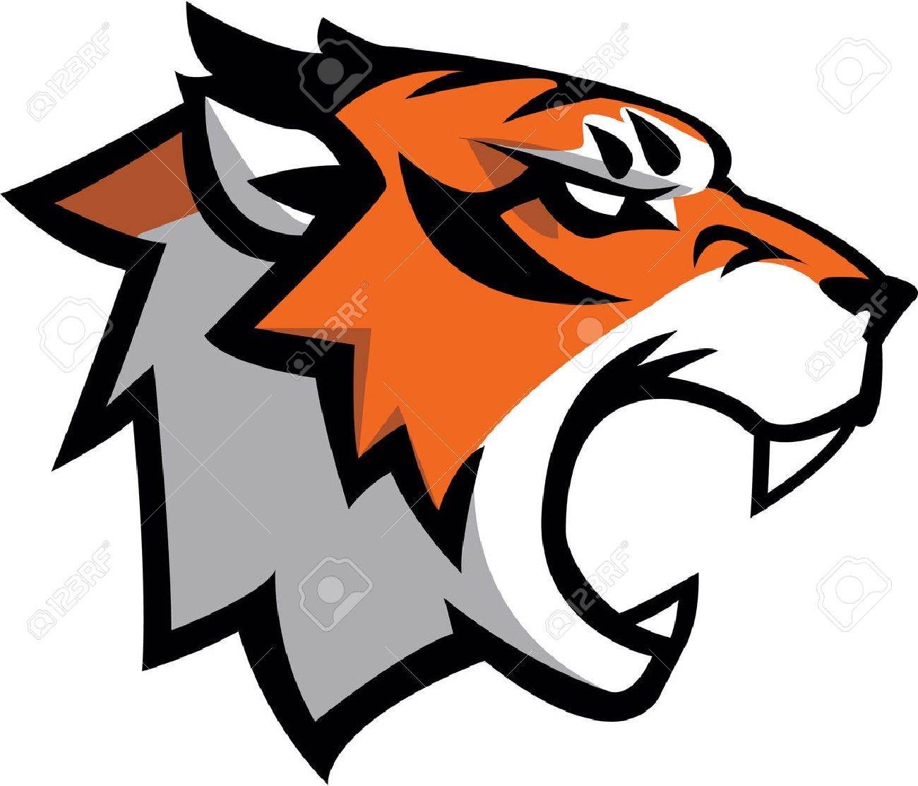 Tiger Symbol illustration design - 46241853