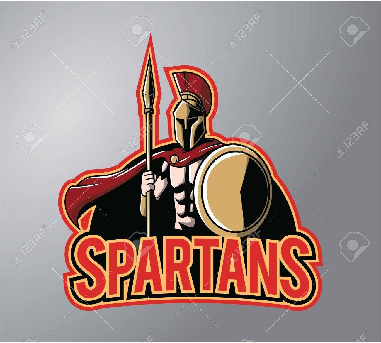 Spartans symbol illustration design - 50085556