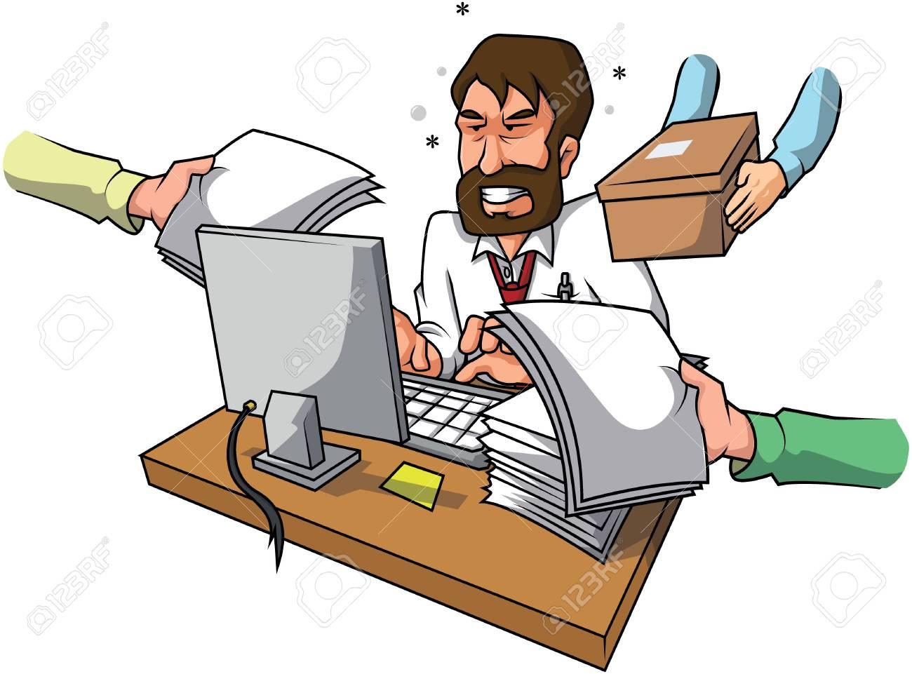 Businessman stress - 50263870