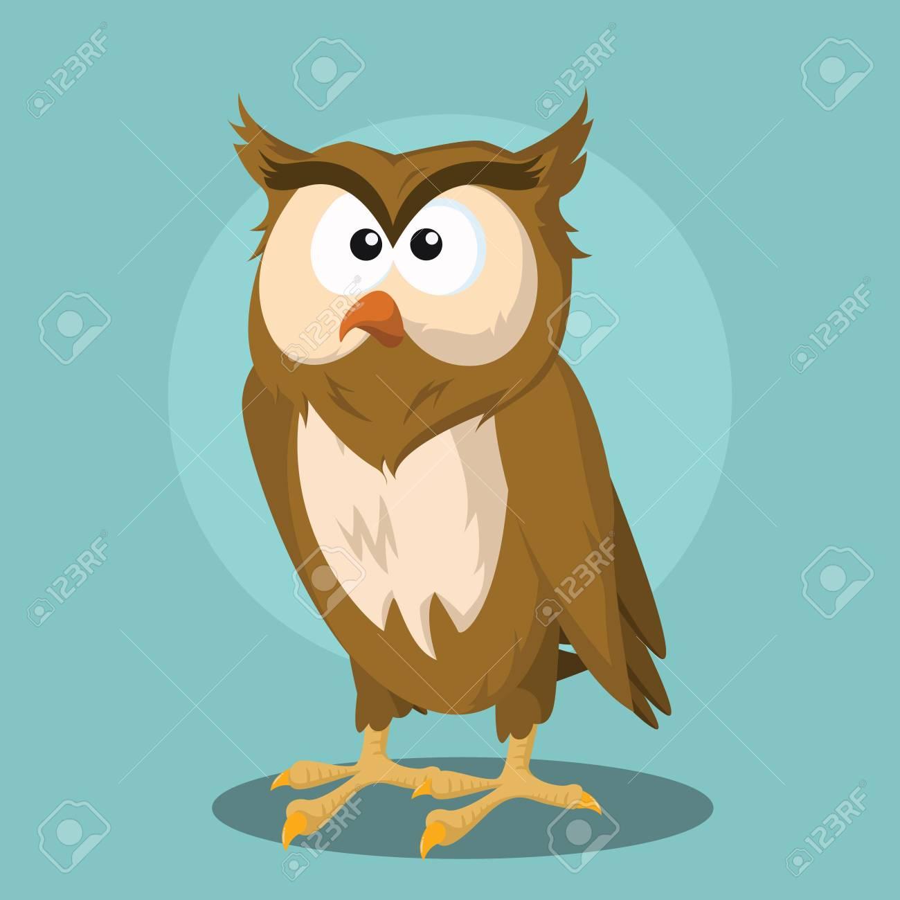 owl vector illustration design - 64666875