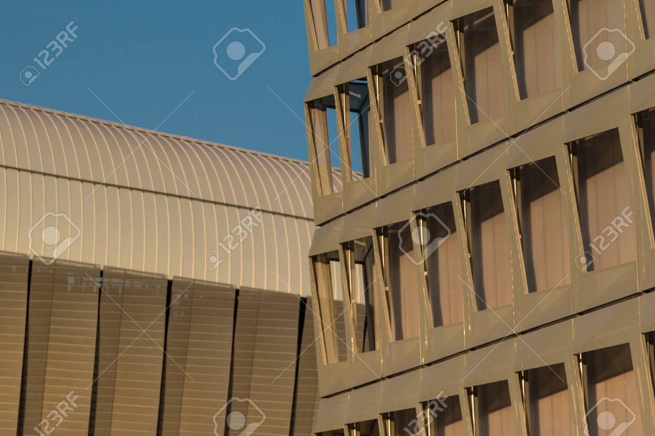 Moderne Zeitgenössische Architektur Blankstahl Detail ...
