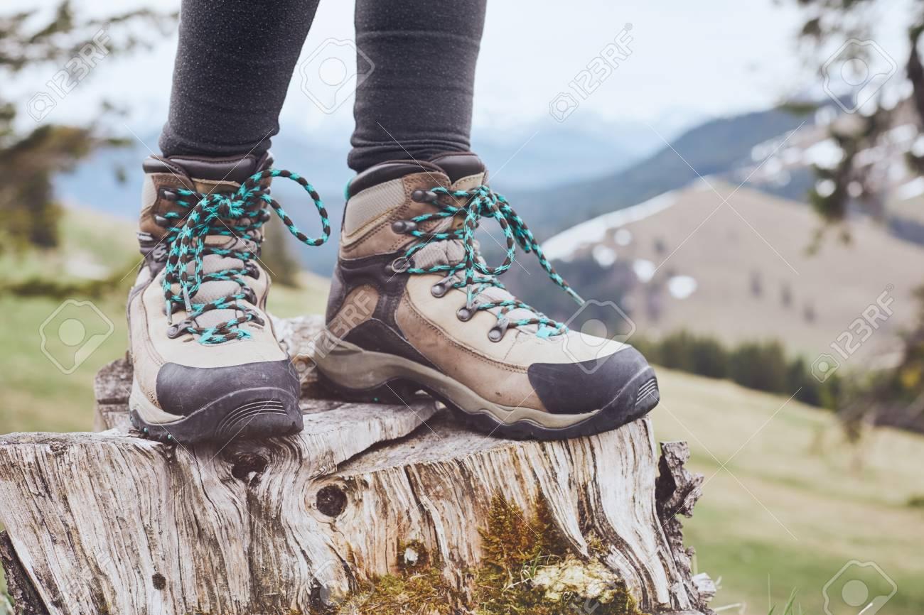 female walking boots cheap online