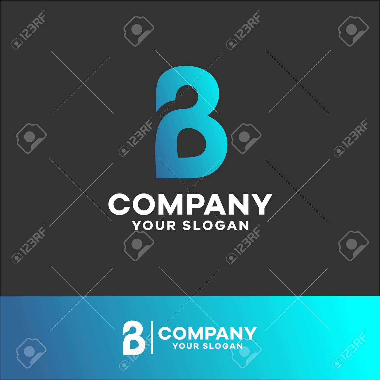 logo-letter-b-for-companies-with-the-initials-letter-b - 157862657