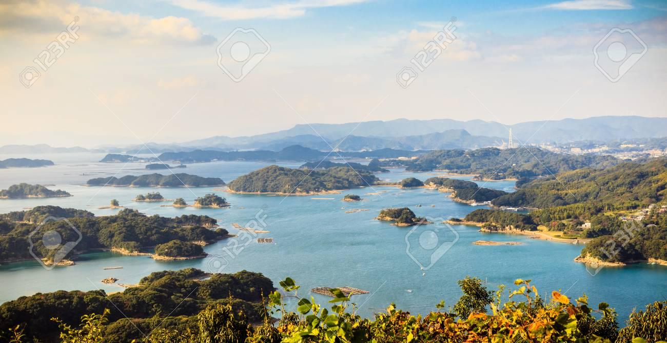 99 islands in Sasebo, Nagasaki, Japan
