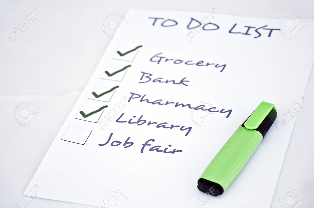 to do list job fair stock photo picture and royalty stock photo to do list job fair