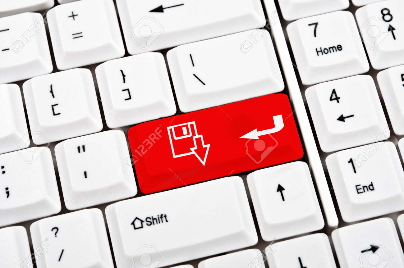 Download sign in place of enter key Stock Photo - 9339487