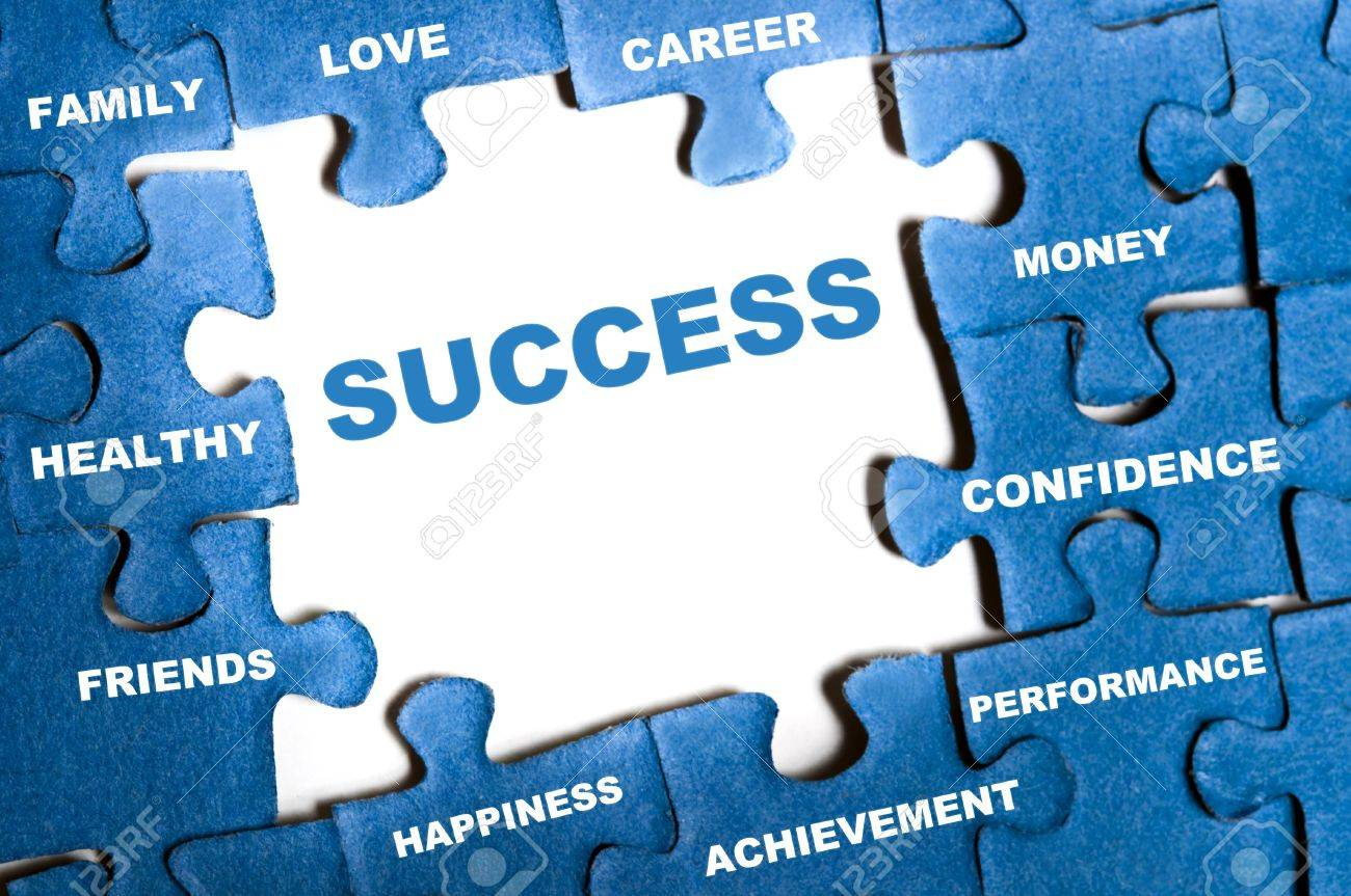 success blue puzzle pieces assembled stock photo picture and stock photo success blue puzzle pieces assembled