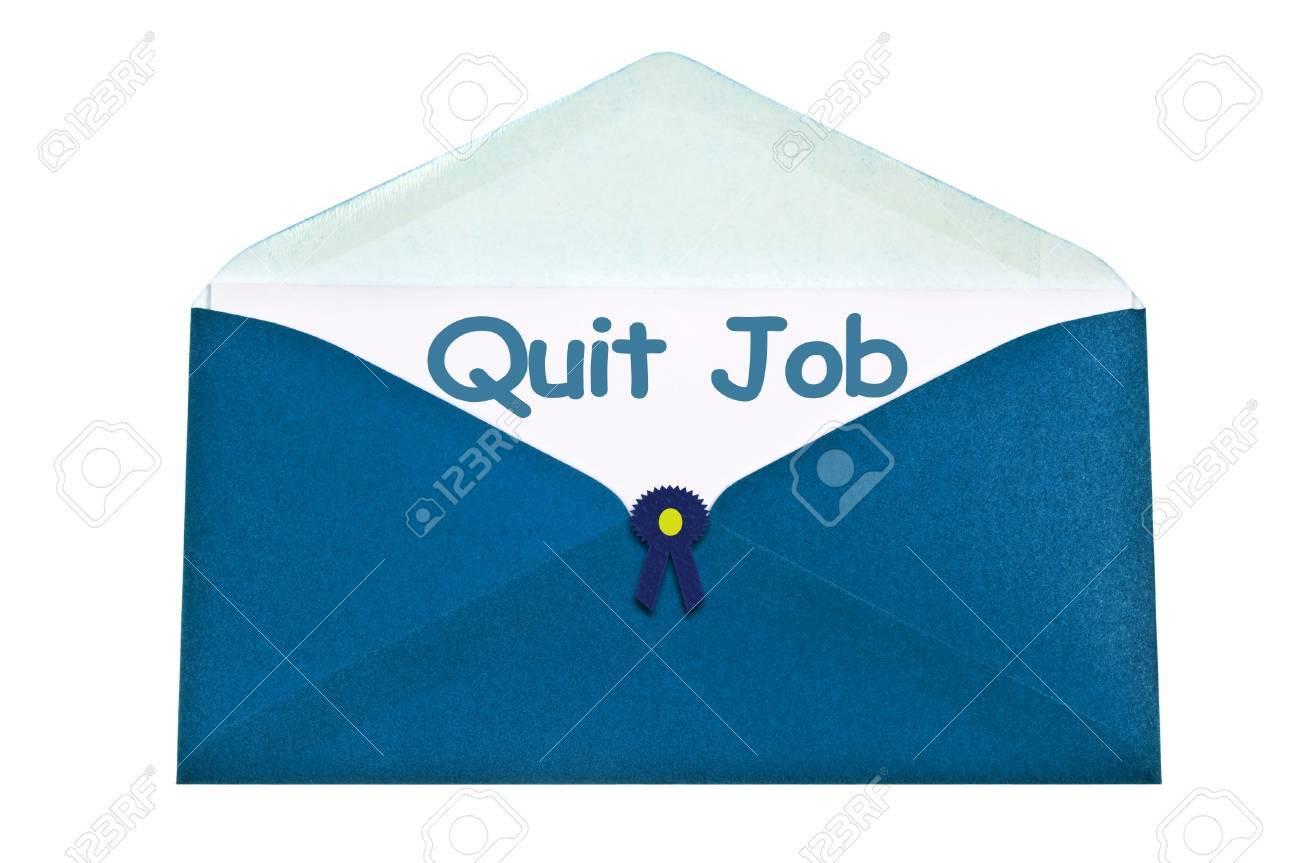 quit job letter in blue envelope stock photo picture and royalty quit job letter in blue envelope stock photo 10063735