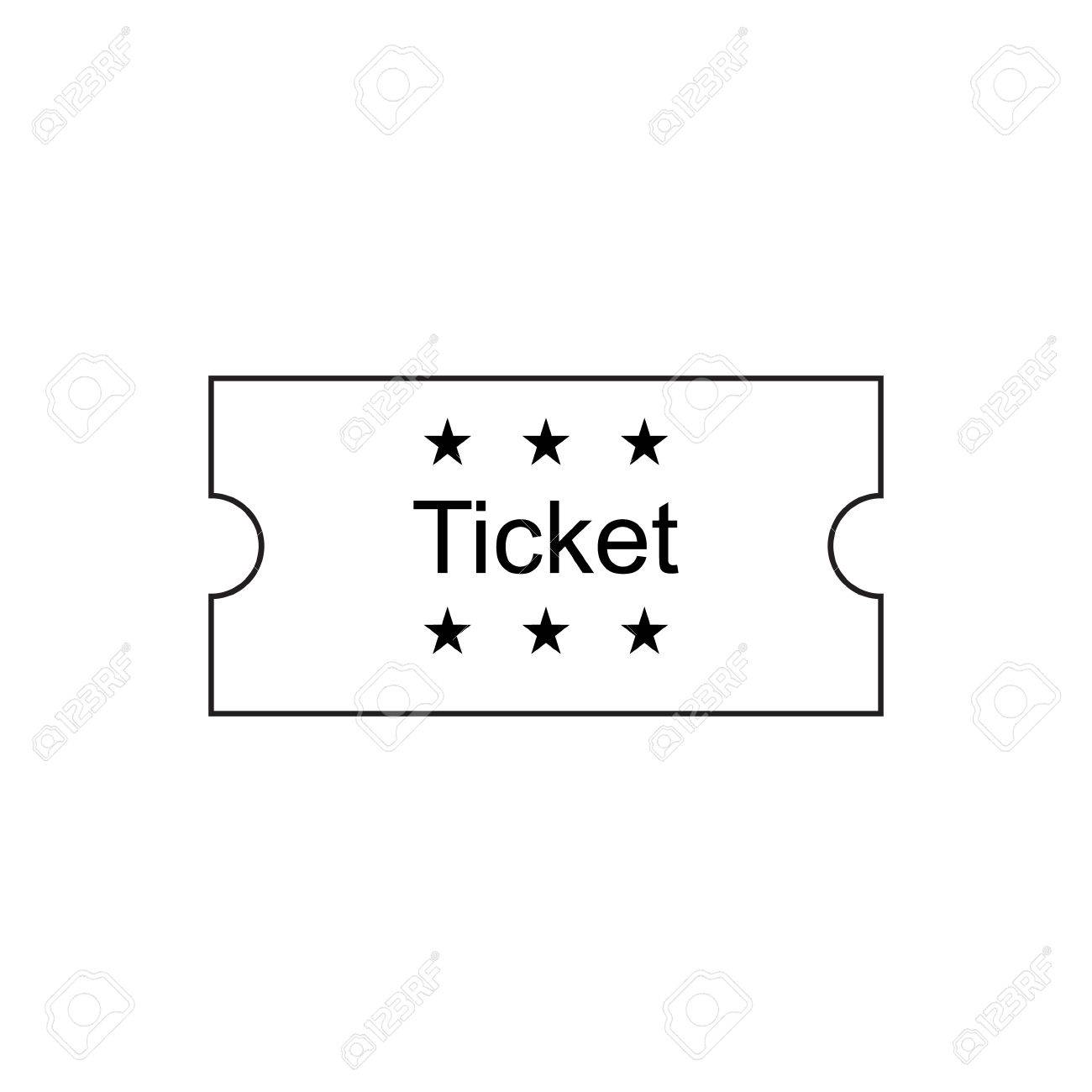 Doc500386 Ticket Outline 1000 ideas about Ticket Template – Ticket Outline