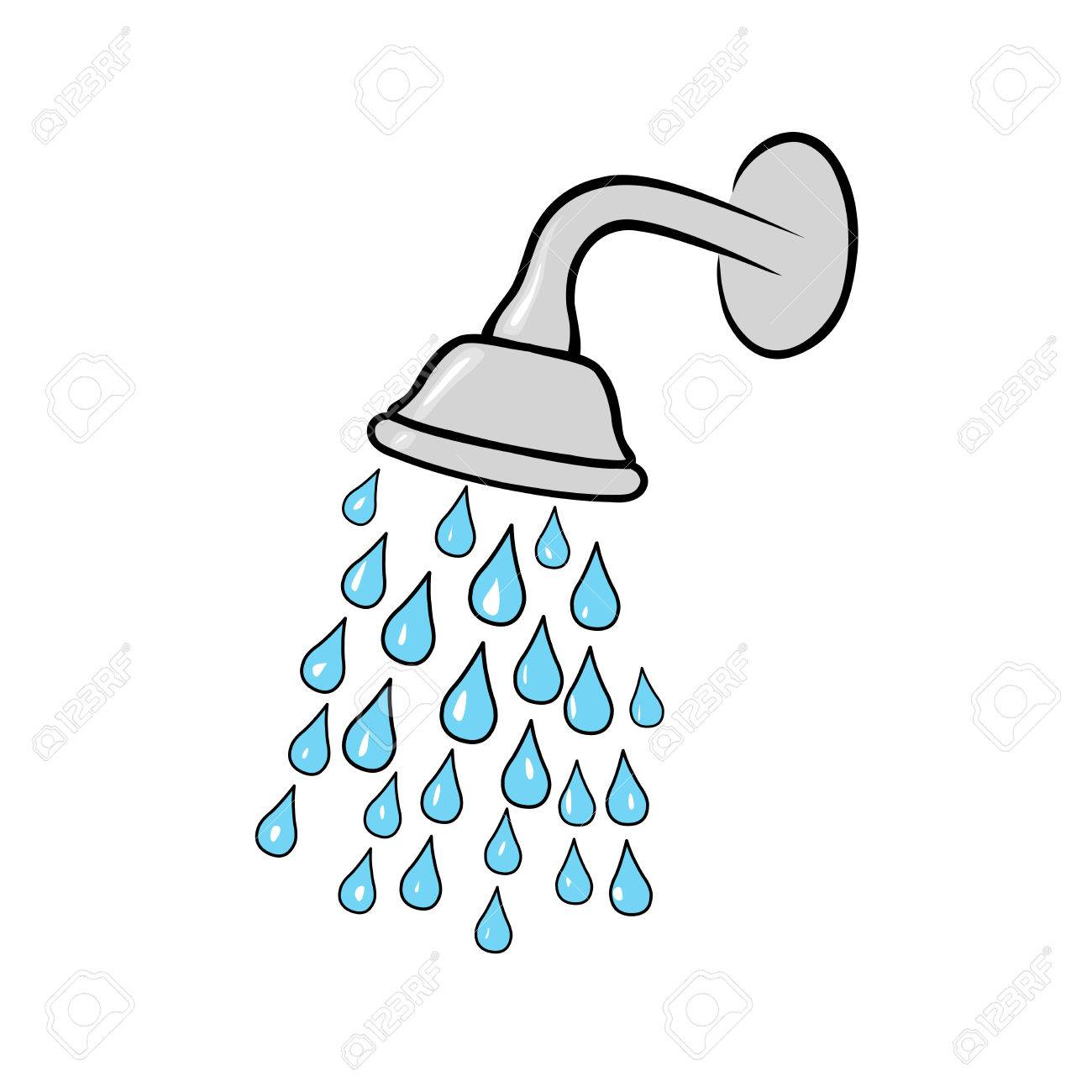 Shower Head Royalty Free Cliparts, Vectors, And Stock Illustration ...