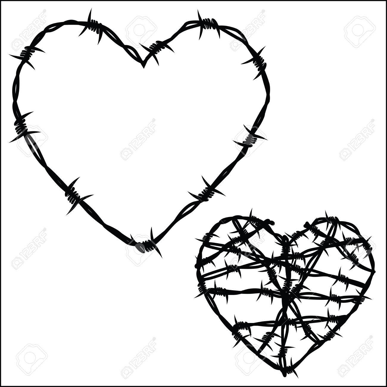Barbed Wire Heart Clip Art Center Pad2pad Custom Printed Circuit Board Manufacturer Mahwah Nj Of Royalty Free Cliparts Vectors And Stock Rh 123rf Com Rustic