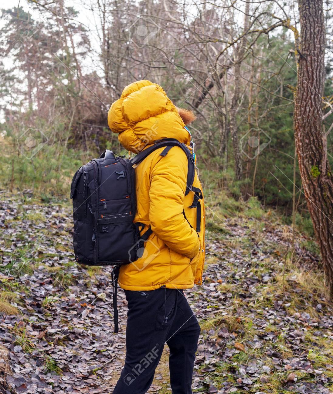 Veste jaune et noir homme