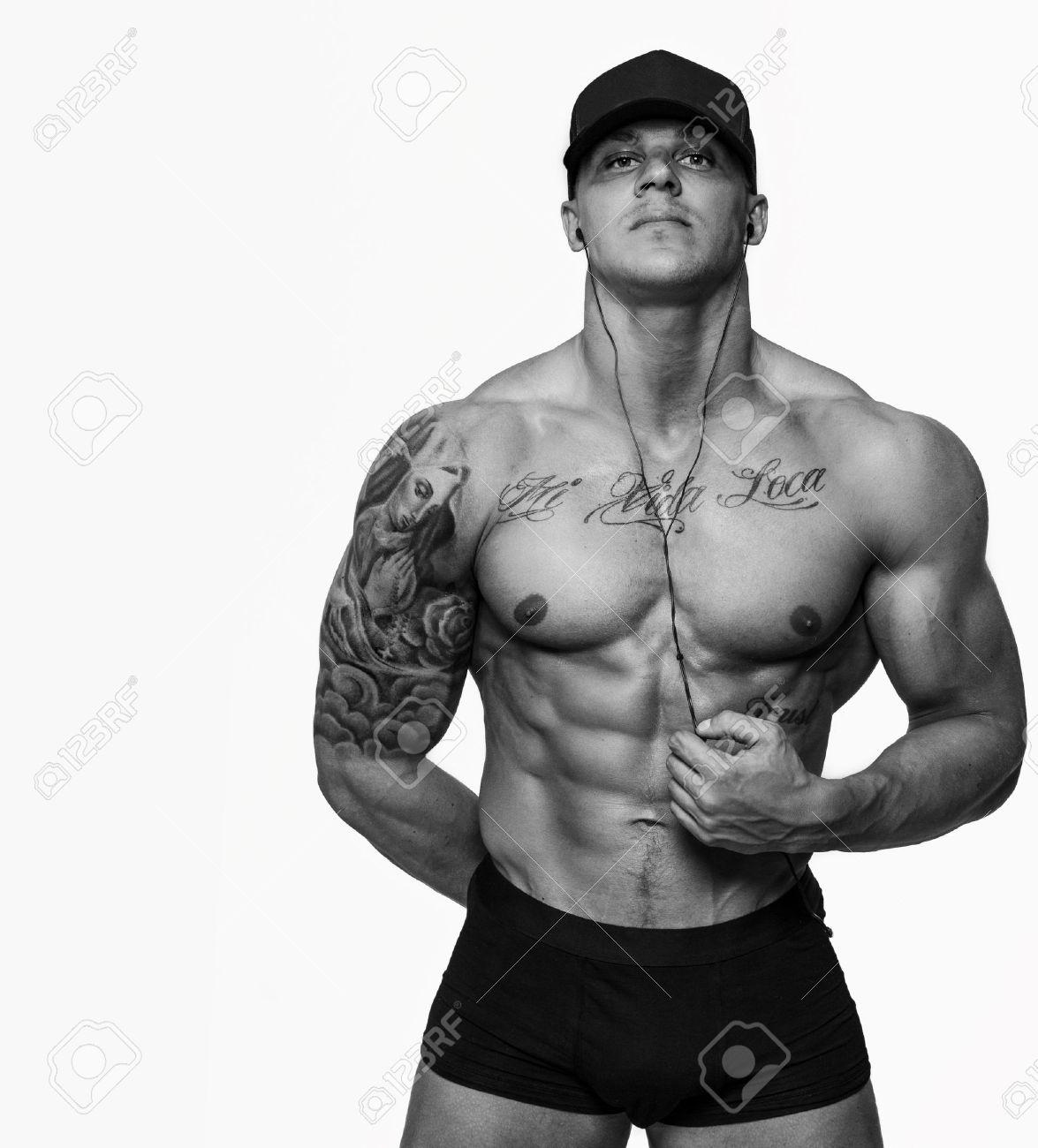 Männer mit tattoos muskulöse Einzigartige und