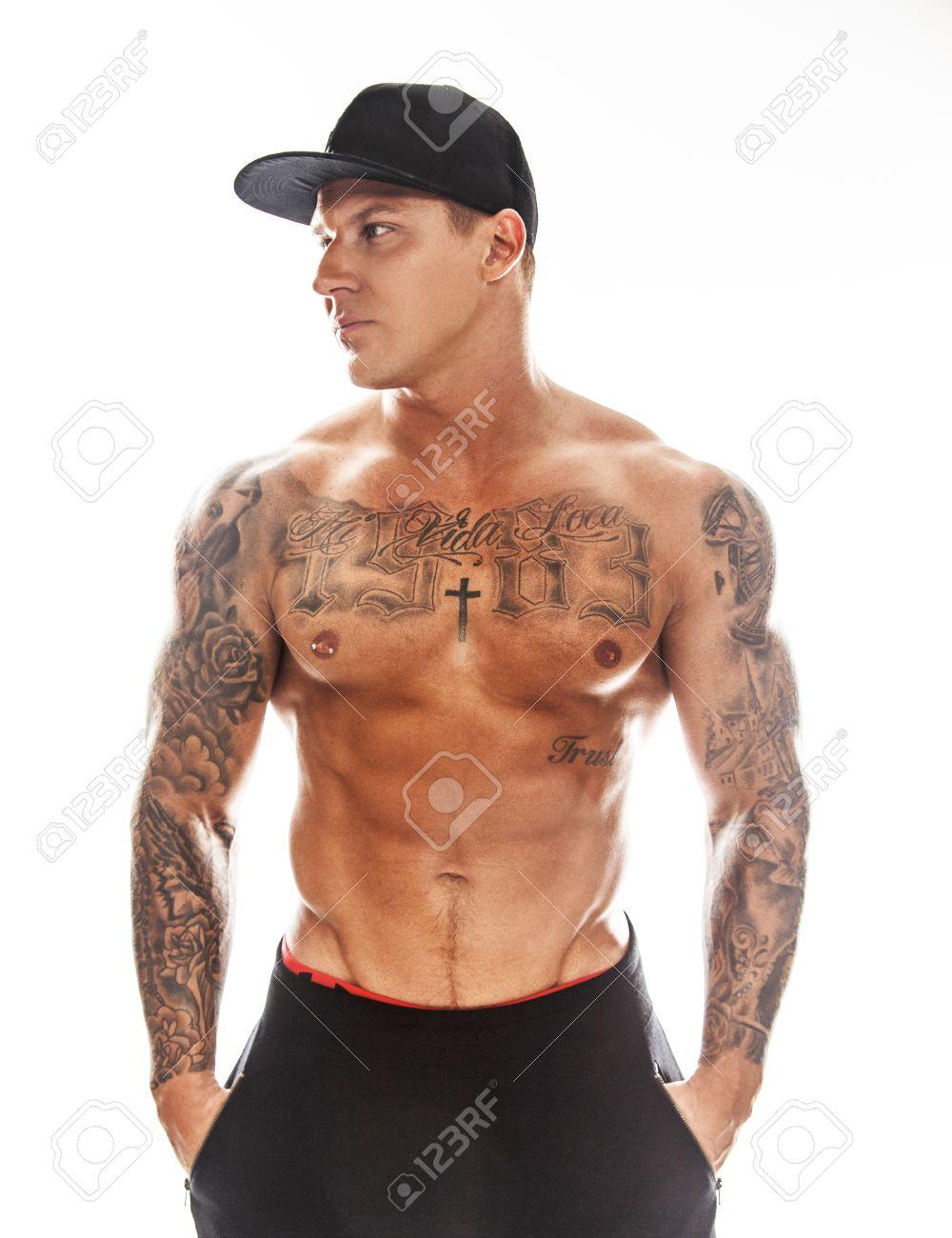 Tattoos muskulöse männer mit Tattoos bei