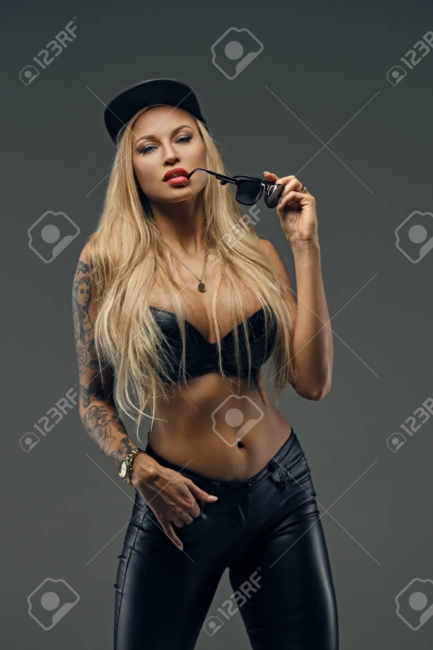 Sexy portrait tattoo