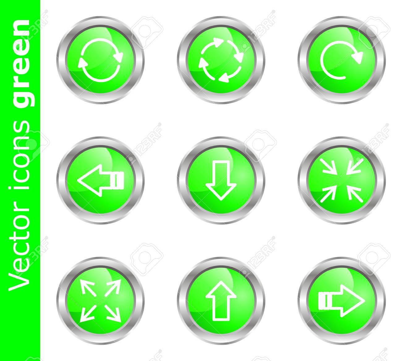 Modern illustration for your web design work (set 2). Stock Vector - 16875984