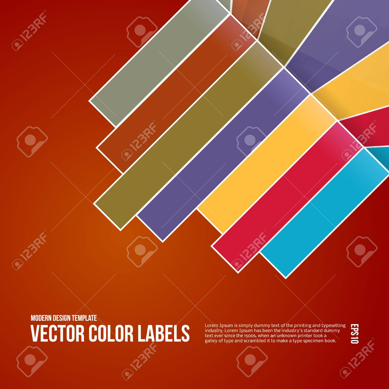 Abstract Design Background. Modern Template. Stock Vector - 19694063