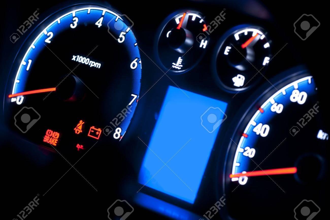 car instrument panel Stock Photo - 9010360