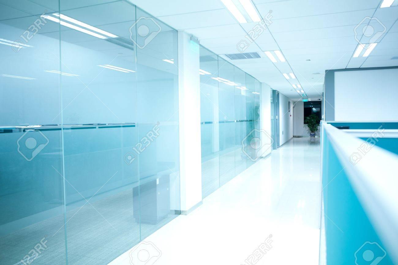 office corridor door glass. Office Corridor Door Glass Stock Photo - 11735298 L