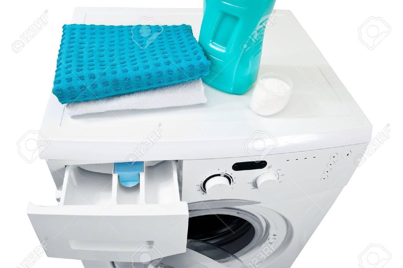 Washing machine and laundry powder for washing - 14238671