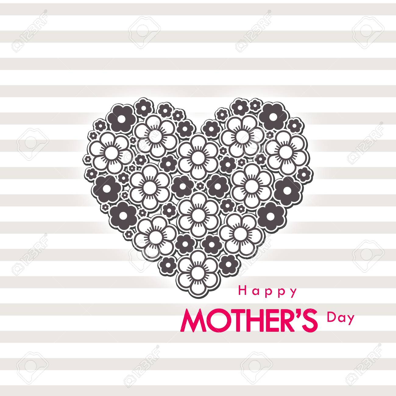 mother s day card Stock Photo - 13152336