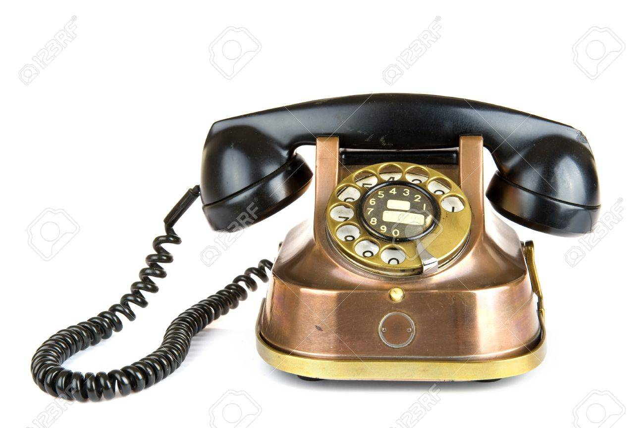an old fashioned telephone Stock Photo - 7167466