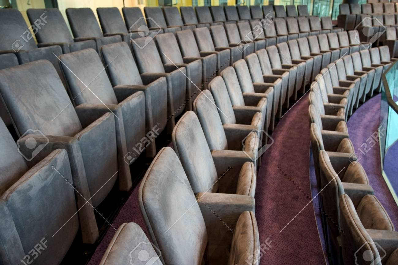 seats waiting spectators Stock Photo - 447939
