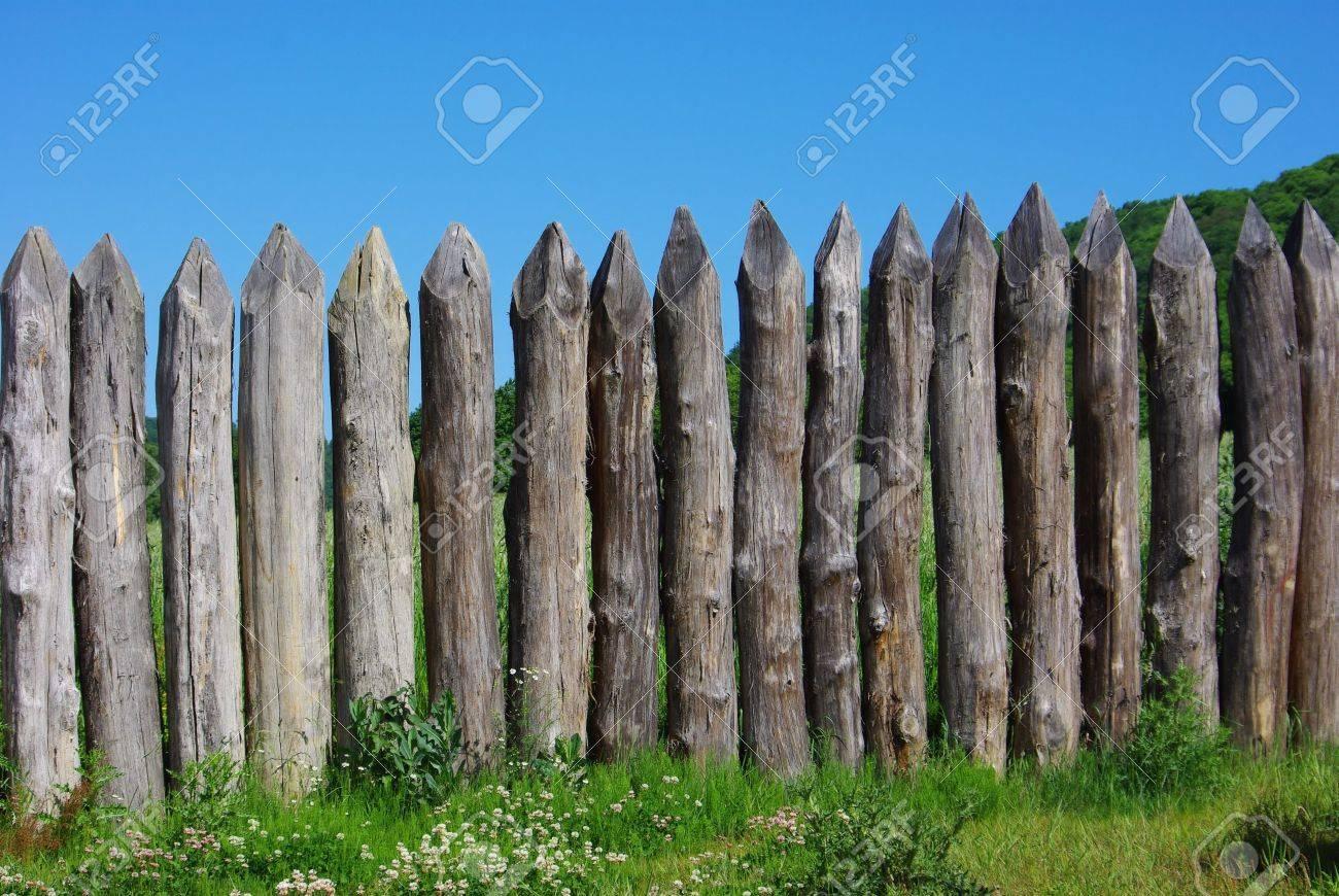 Holz dem Spiel Zaun Lizenzfreie Fotos Bilder Und Stock Fotografie