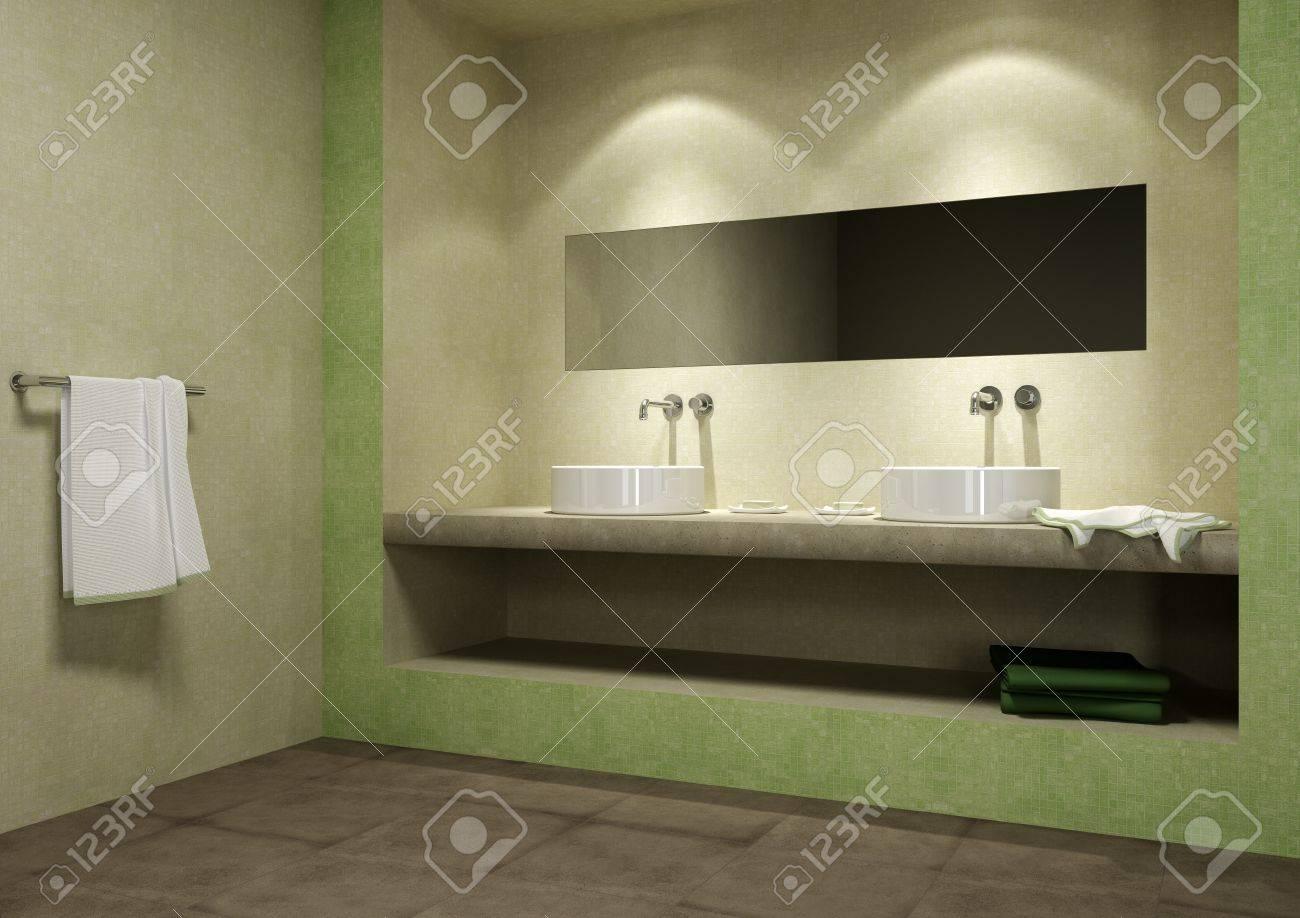 mosaic bathroom Stock Photo - 9782094