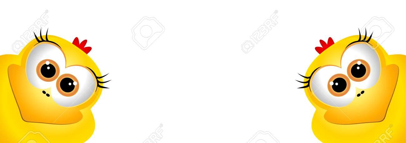 Gelbe Karte Lustig.Stock Photo