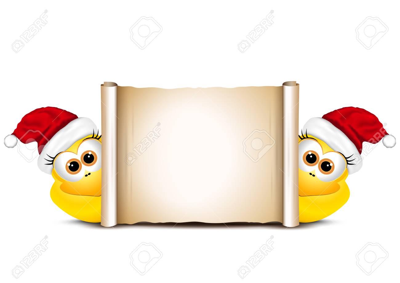 Weihnachtskarte Design-Vorlage. Zwei Lustige Huhn. Glückliches Hahn ...
