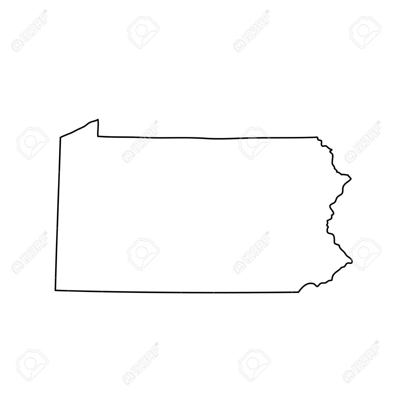 map of the U.S. state of Pennsylvania - 75477517