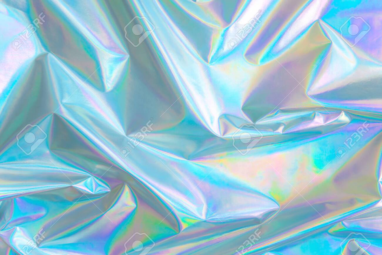 pastel colored holographic background in 80s style - 155101555