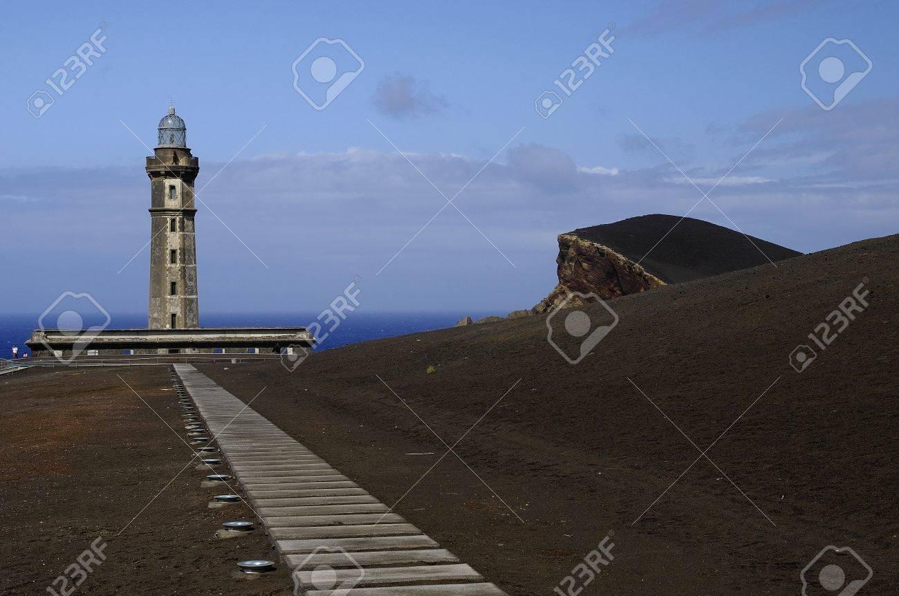 Capelinhos Lighthouse, Faial Island,Azores - 14977269