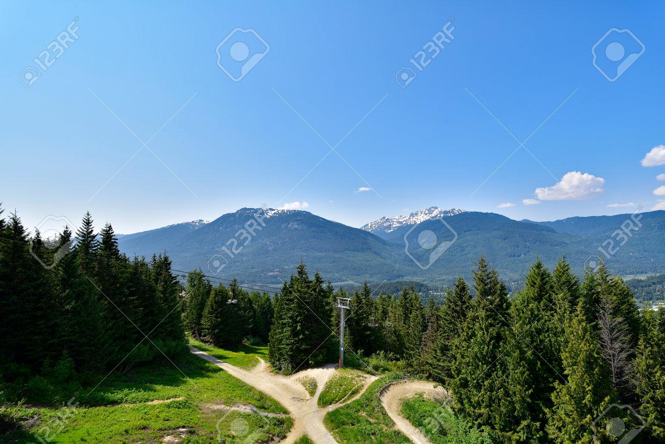 Coastal Mountains in British Columbia. Canada - 160517474