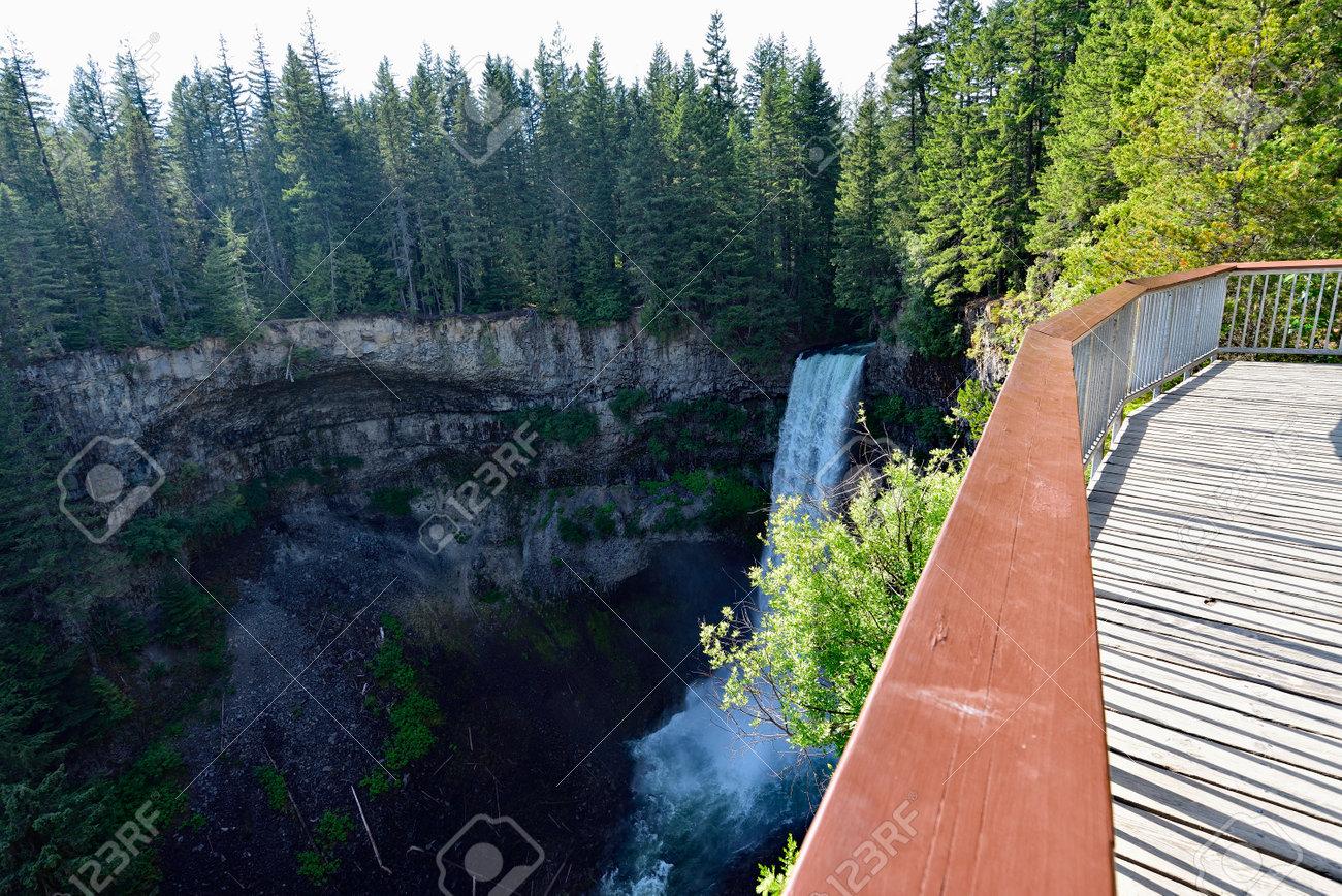 The Spectacular Brandywine Falls near Whistler, British Columbia, Canada. - 160995819