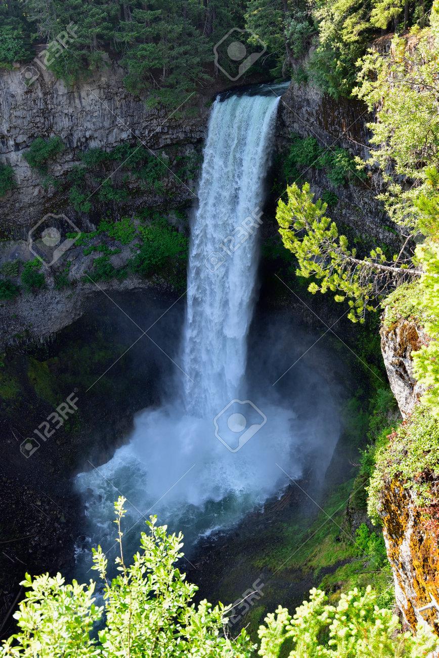 The Spectacular Brandywine Falls near Whistler, British Columbia, Canada. - 160995797