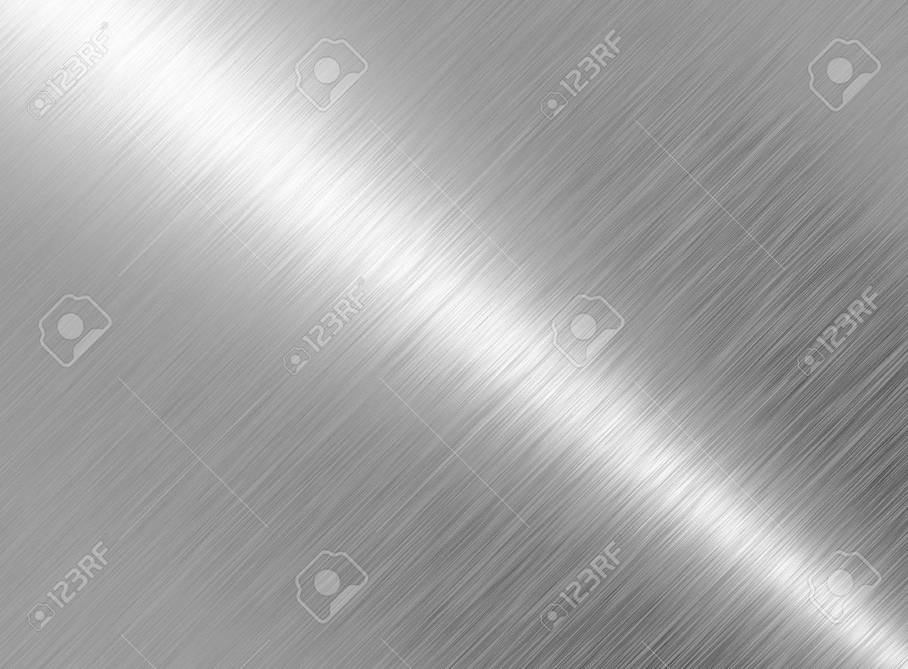 Brushed metal texture abstract background Stock Photo - 8385558