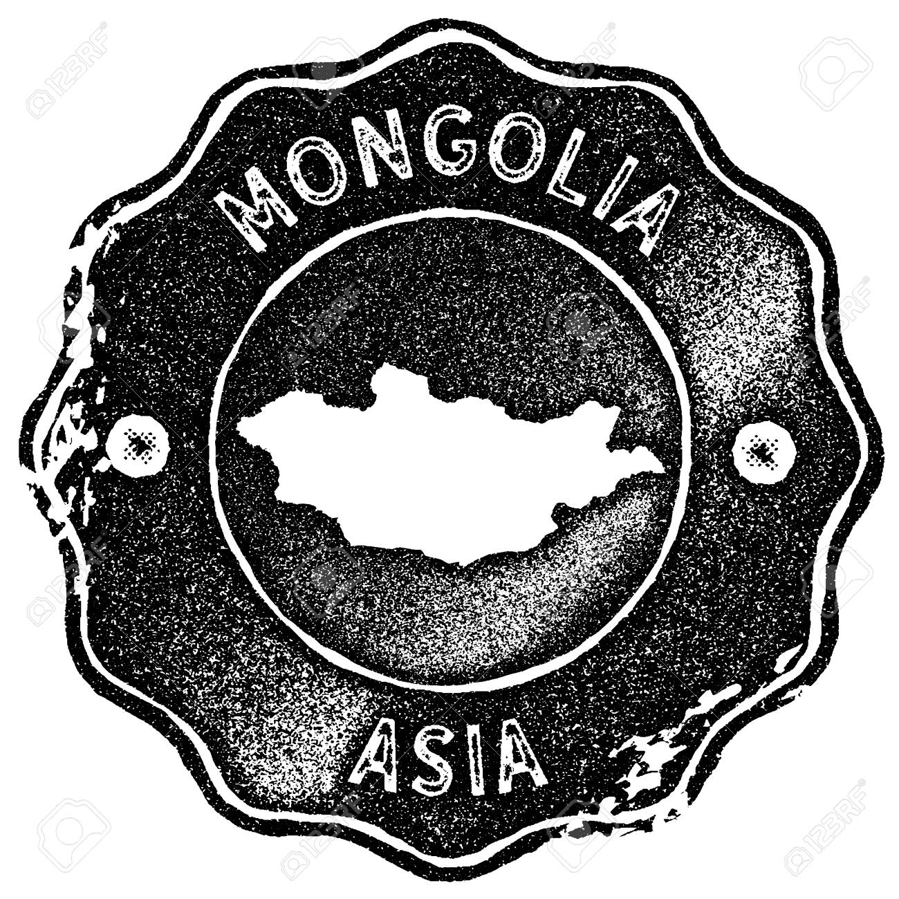 mongolia map vintage st retro style handmade label badge Mongolia Currency to Dollar mongolia map vintage st retro style handmade label badge or element for travel souvenirs