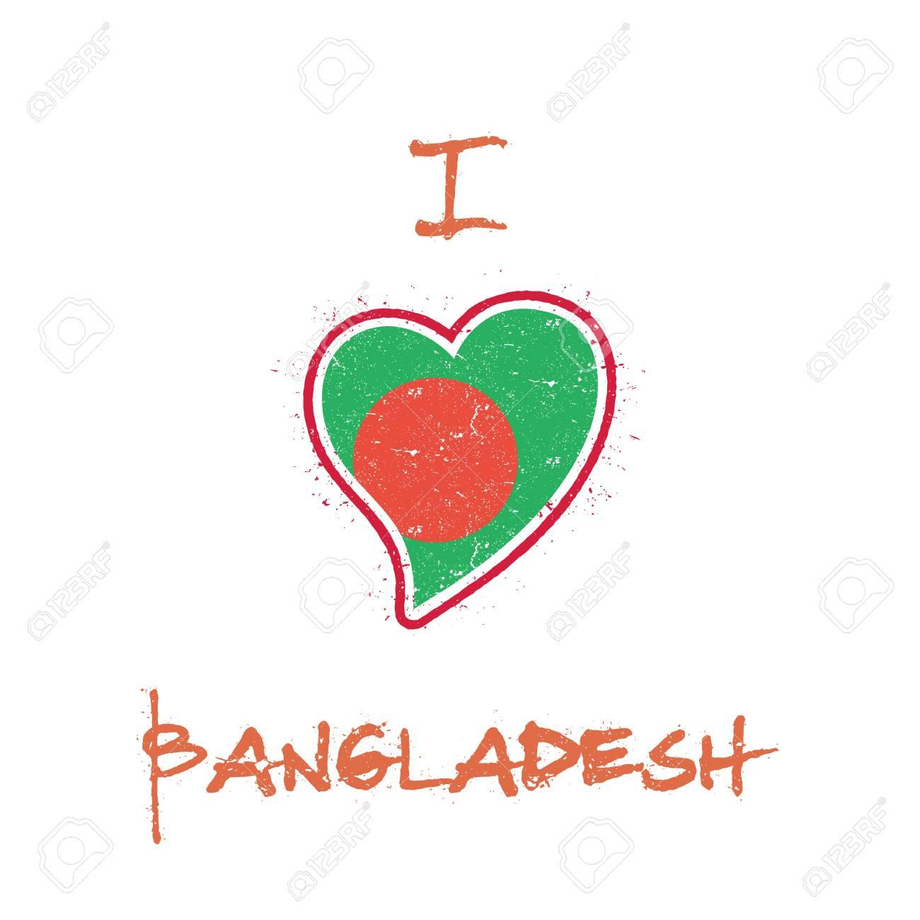 I Love Cuore Bangladesh T-SHIRT