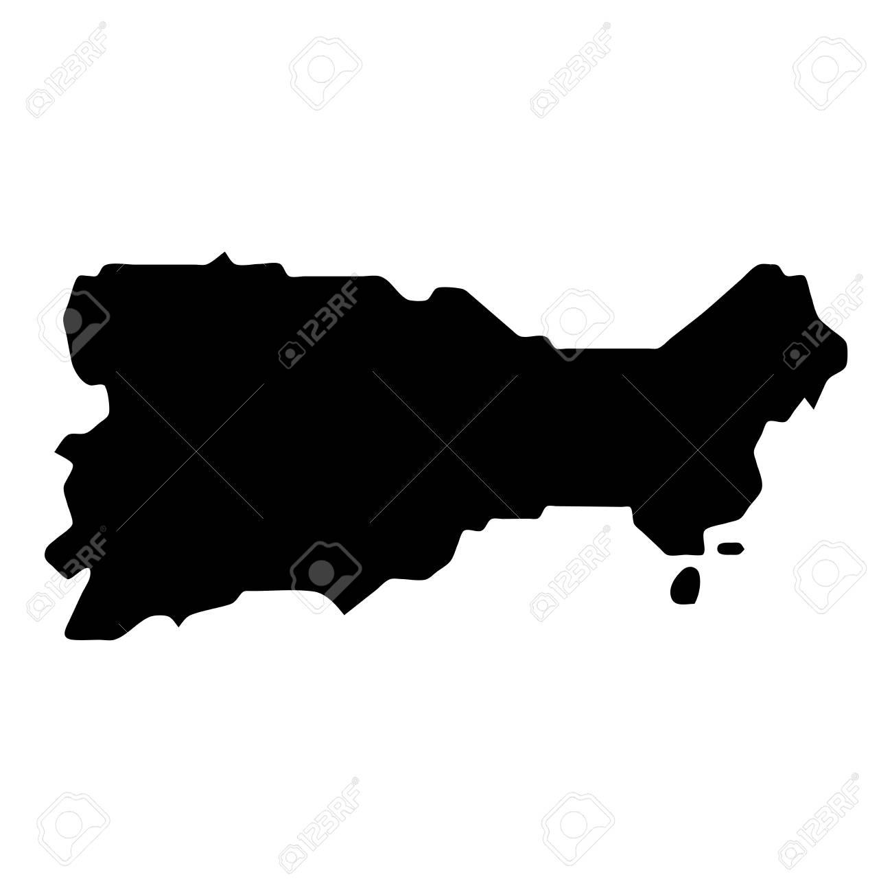 6df5faaa21191 Capri map. Island silhouette icon. Isolated Capri black map outline. Vector  illustration.